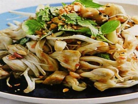 Mít non kho với cá chuồn - Món ngon xứ Quảng