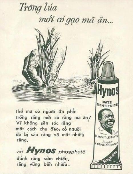 Sài Gòn xưa: thương hiệu Việt kem đánh răng Hynos trước năm 1975