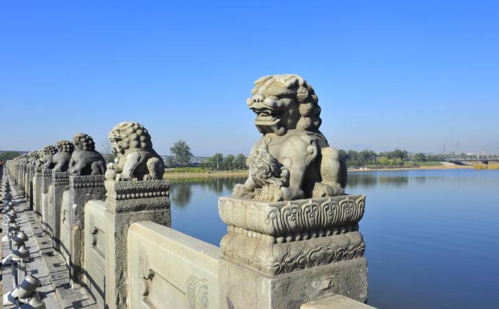 Tản mạn về phong tục đặt sư tử đá trước cổng nhà của người xưa
