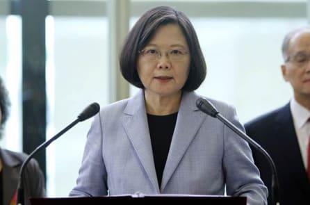 Trước khi tới Mỹ, Tổng thống Đài Loan tuyên bố kiên định vị thế độc lập