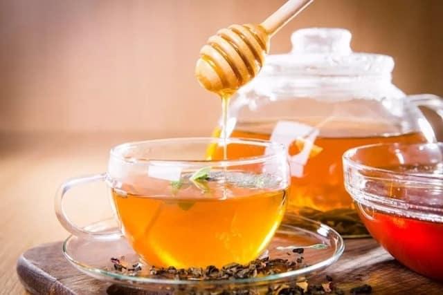 trà mật ong