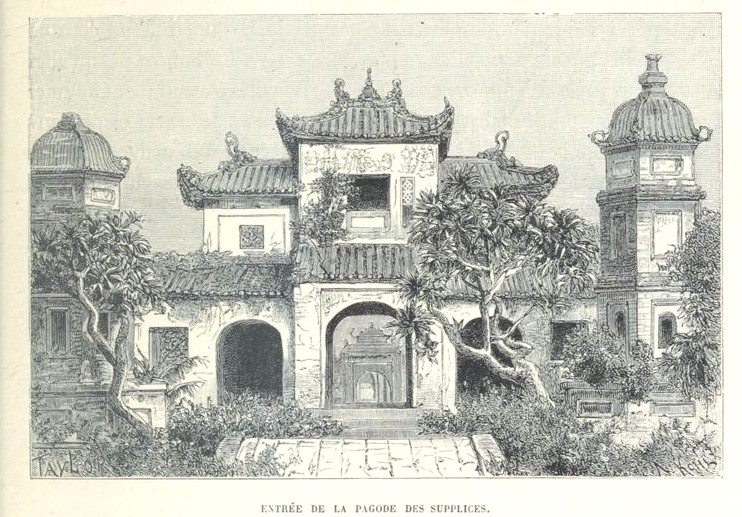 Loạt tranh minh họa về cuộc sống Việt Nam những năm 1884-1885
