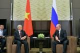 Nguyen Phu Trong - Putin