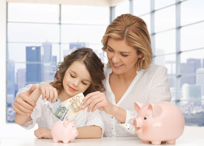 dạy con, tinh thần doanh nhân, dạy con tài chính, tiết kiệm