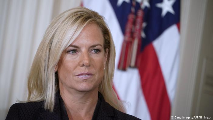 Bà Kirstjen Nielsen, Bộ trưởng Bộ An ninh Nội địa Mỹ. (Ảnh Getty Image)