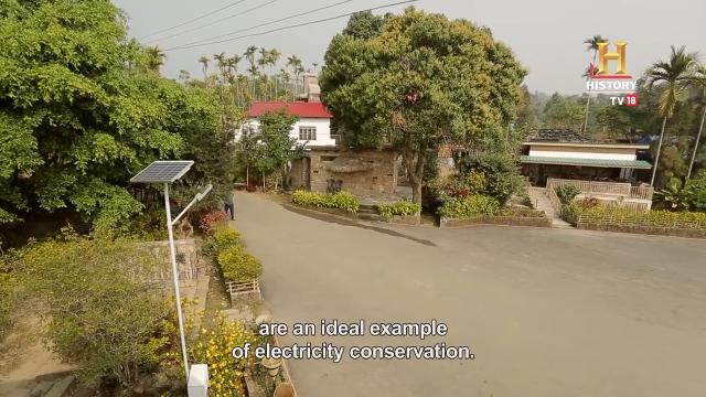 ngôi làng sạch nhất châu Á