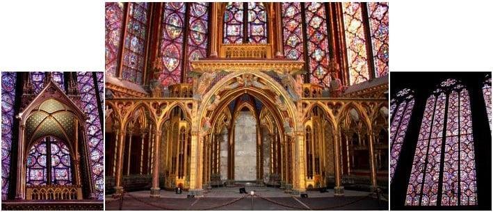 Nhà thờ Thánh La Sainte Chapelle: Một kỳ công kiến trúc thời Trung Đại
