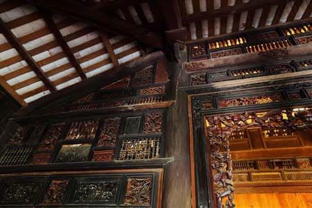 Ngôi nhà trăm cột ở Long An - Một kiến trúc độc đáo