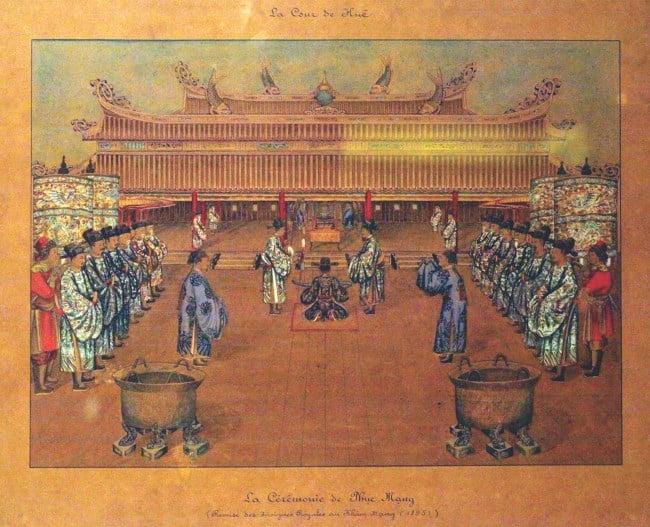 Bộ tranh quý về triều đình nhà Nguyễn