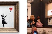 Bức tranh hơn 1 triệu đô bỗng tự cắt nhỏ khi đang bán đấu giá