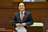 Tại Đại hội Đảng, Bộ trưởng Nhạ che giấu những bê bối ngành giáo dục?