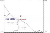 Động đất trên biển Hà Tĩnh