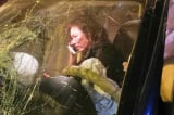 Nữ tài xế lái BMW gây tai nạn khai do vướng giày cao gót