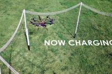Sạc pin từ xa cho phép drone bay với thời lượng không giới hạn