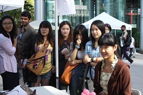 sinh viên trung quốc