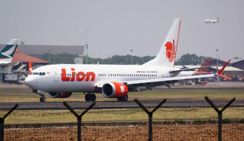 Máy bay Boeing 737 MAX (ảnh: PK-REN, Jakarta, Indonesia)