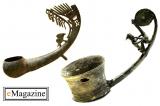 Những chiếc muôi đồng Đông Sơn được tạo dáng nghệ thuật