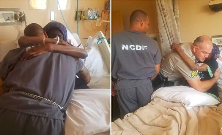 Cảnh sát tốt bụng giúp phạm nhân đến vĩnh biệt mẹ lần cuối