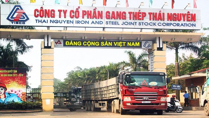 gan thep thai nguyen