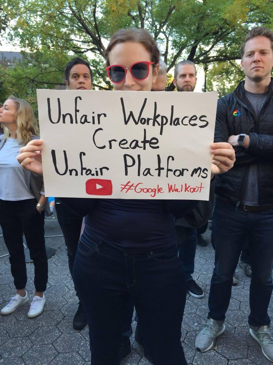 Hàng ngàn nhân viên Google biểu tình