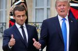 Tổng thống Trump 'khẩu chiến' với Tổng thống Pháp Macron