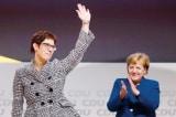 Thân tín của bà Merkel được bầu làm Chủ tịch Đảng CDU cầm quyền