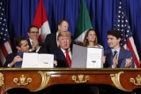 Tại G-20, Mỹ–Canada-Mexico chính thức ký Hiệp định Thương mại mới