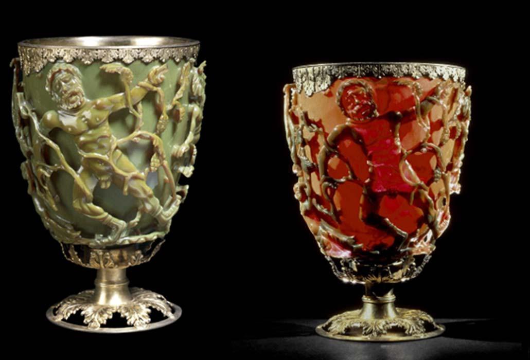 Cốc Lycurgus, Người La Mã đã làm chủ công nghệ nano