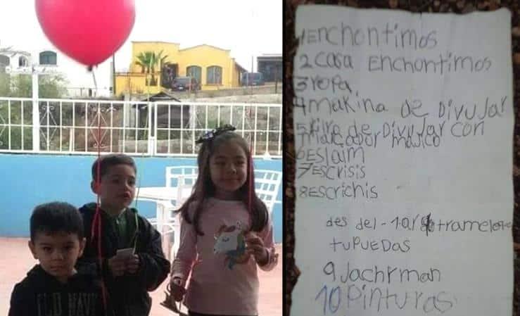 """Điều ước Giáng sinh của bé gái Mexico đã vượt qua """"bức tường biên giới"""""""