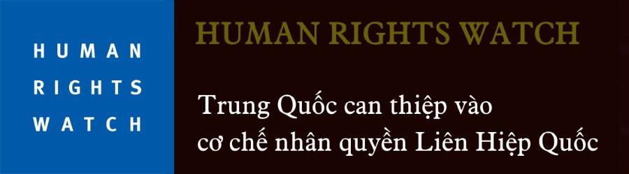 Năm 2018: Thế giới đồng loạt lên án Trung Quốc về nhân quyền