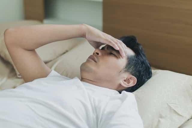 mất ngủ, mệt mỏi