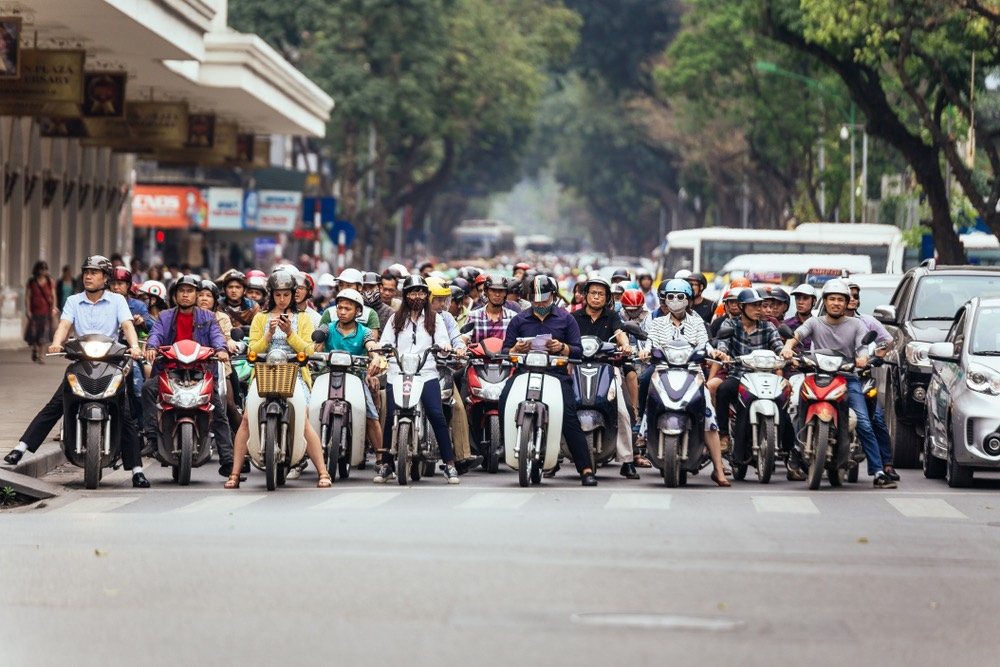 không khí Hà Nội ô nhiễm nặng PM2.5