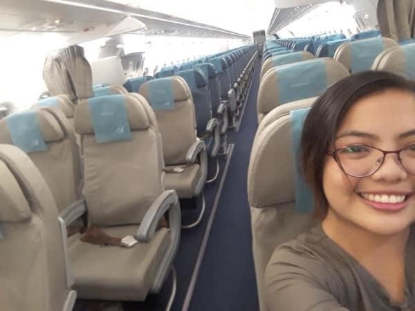 Chuyến bay chỉ có 1 hành khách duy nhất