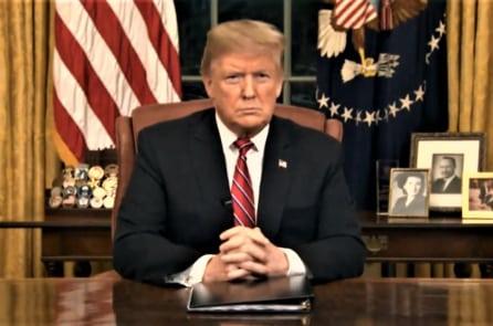 Đọc diễn văn trước quốc dân về vấn đề an ninh biên giới của TT Trump