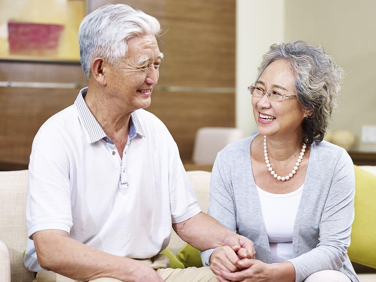 hôn nhân dài lâu, vợ chồng