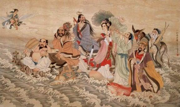 """""""Bát Tiên"""" là tám vị Tiên trong Đạo Giáocó pháp lực rất lớn"""