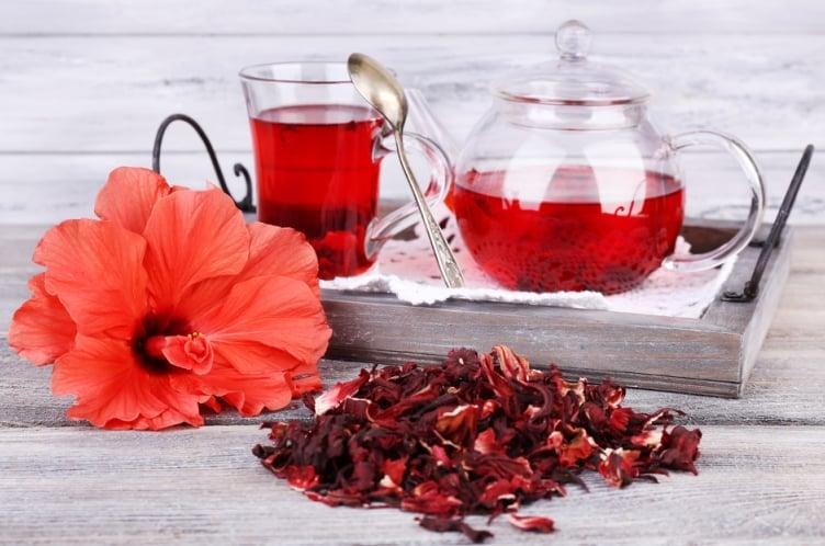 5 loại trà thảo dược, trà thảo mộc, trà, loại trà tốt cho sức khỏe, trà dâm bụt