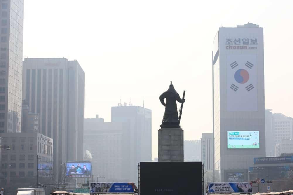 Hàn Quốc: Ô nhiễm không khí