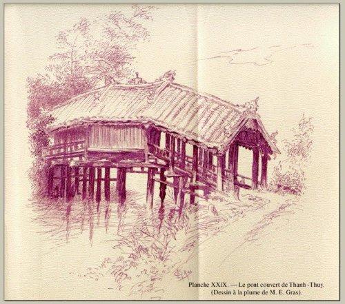 Cầu ngói Thanh Toàn xứ Huế