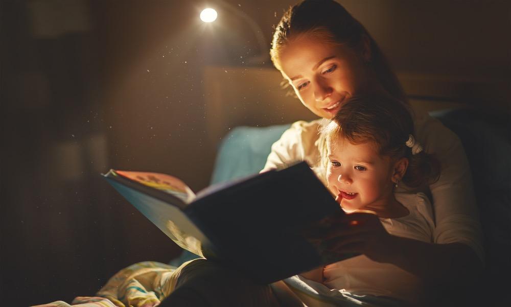 ebook khi đọc sách cho con