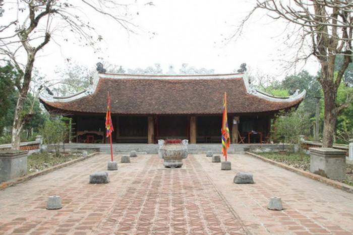 Đền thờ vua Lê Đại Hành ở thôn Trung Lập, xã Xuân Lập, huyện Thọ Xuân, tỉnh Thanh Hóa.