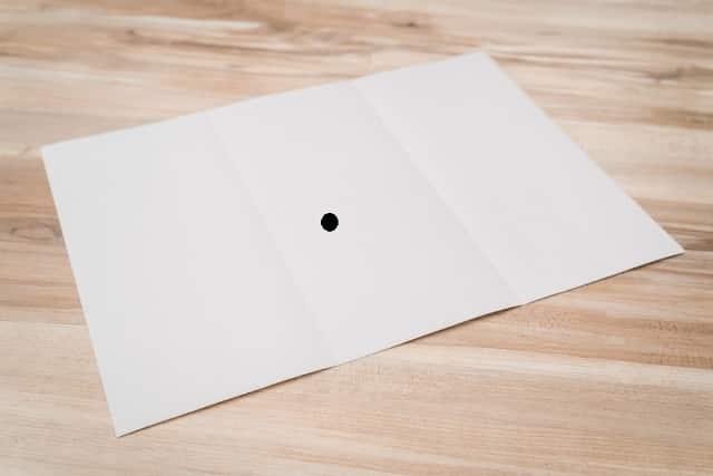 Các bạn nhìn thấy gì trên tờ giấy trắng này?