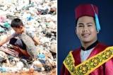 Từ một cậu bé nhặt rác trở thành cử nhân đại học