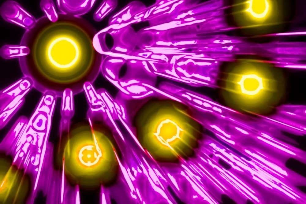Ảnh minh họa các hạt photon (ảnh: Shutterstock)