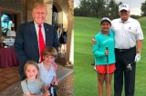 """Tổng thống Trump tận hưởng """"thời gian làm ông nội"""" vào lễ Phục Sinh"""