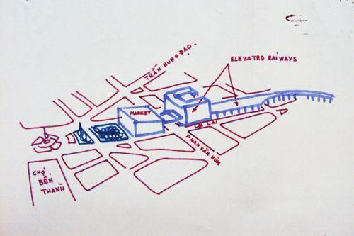 Sài Gòn xưa: Dự án đường sắt trên cao tham vọng vào năm 1966