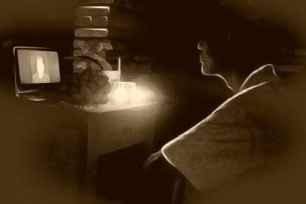 Những giọt lệ già mà nhớ mẹ, như nuốt ngược vào tim, mặn biết chừng nào!