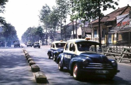 Taxi Sài Gòn trước 1975