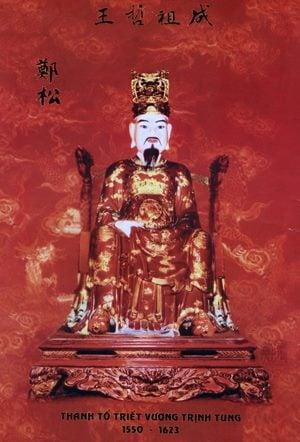 Triết vương Trịnh Tùng: Người mở đầu cơ nghiệp chúa Trịnh