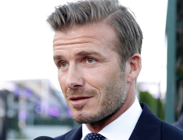 David Beckham bị cấm lái xe